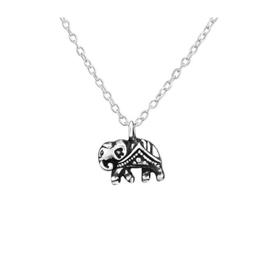 TIBETAN ELEPHANT STERLING ZILVER KETTING