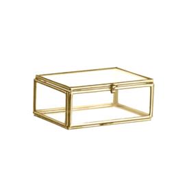 RECTANGULAR GLASS BOX / MADAM STOLTZ