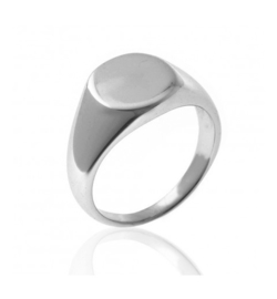 SIGNET RING STERLING ZILVER