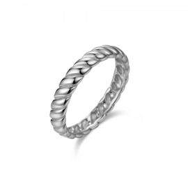 TWIST RING STERLING ZILVER