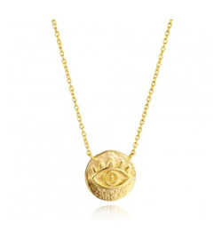 EYE GOLD VERMEIL KETTING