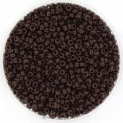 MIYUKI ROCAILLES, 2 MM, OPAQUE CHOCOLATE 11-409