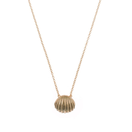 SEA SHELL GOLD VERMEIL NECKLACE