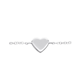 HEART STERLING SILVER / ARMBAND