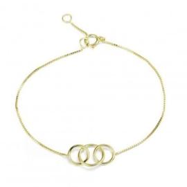 RINGS GOLD VERMEIL BRACELET