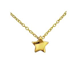 STAR NECKLACE GOLD VERMEIL