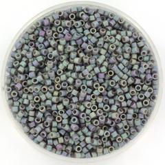 MIYUKI DELICA 2 MM KRALEN, METALLIC MATTE IRIS BLUE 11-1063