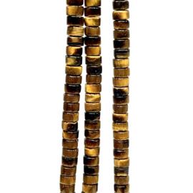 TIJGEROOG 4,5 X 2,5 MM DISK KRALEN