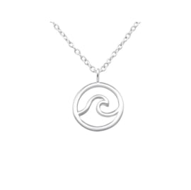 WAVE STERLING SILVER / KETTING