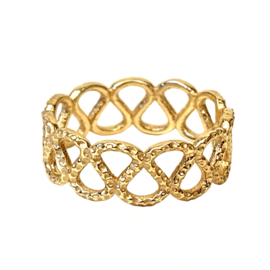 SWIRL RING GOLD VERMEIL / MUJA JUMA