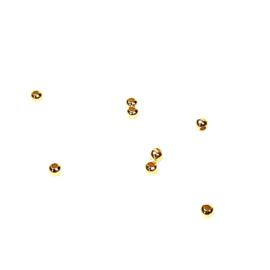 BALLETJES GOLD VERMEIL 2MM (0.8 GR)