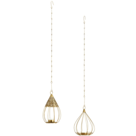 HANGING BIRD CAGE VOTIVES / MADAM STOLTZ