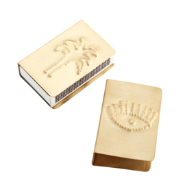 MATCH BOX COVERS W/ IMPRINTS / MADAM STOLTZ