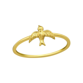 BIRD RING GOLD VERMEIL