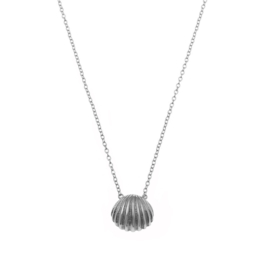 SEA SHELL STERLING SILVER NECKLACE