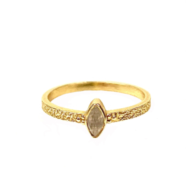 BUTTERFLY MOONSTONE RING GOLD VERMEIL / MUJA JUMA