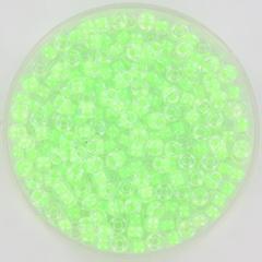 MIYUKI ROCAILLES 3 MM LUMINOUS GREEN 08-1120