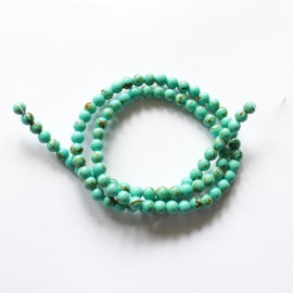 Imitatie Turquoise 4 mm.