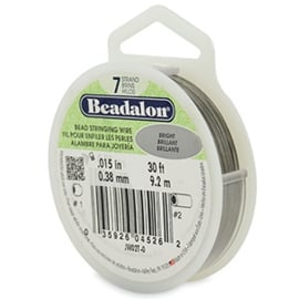 BEADALON RIJGDRAAD 0.38MM BRIGHT