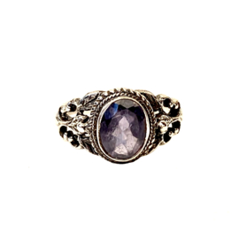 LOLIET BOHO RING STERLING ZILVER 18.25