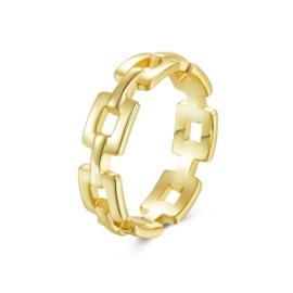 CADENA RING GOLD VERMEIL