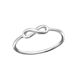 ETERNITY RING STERLING SILVER