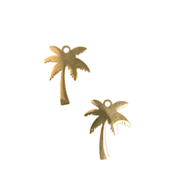 PALM BEDEL RVS GOUD