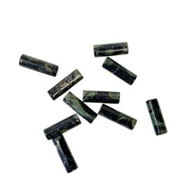 JASPIS TUBE KRALEN (10 PCS)