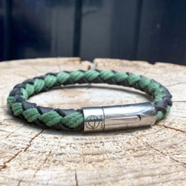 MENS BRACELET PUNTA PALOMA GREEN/ BLACK