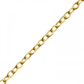 PLAIN NECKLACE GOLD VERMEIL 42 CM