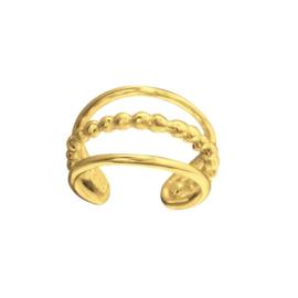 BALI GOLD VERMEIL EARCUFF