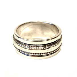 SPINNER RING STERLING ZILVER