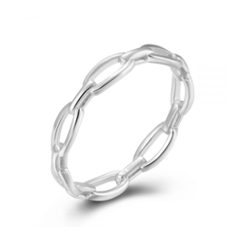 CHAIN RING STERLING ZILVER