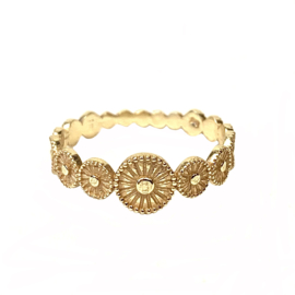 COIN RING GOLD VERMEIL / MUJA JUMA