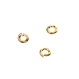 BUIGRINGEN 4 MM GOLD VERMEIL (10X)