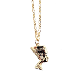 EGYPTIAN QUEEN GOLD PLATED KETTING