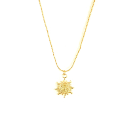 VINTAGE SUN KETTING GOLD PLATED