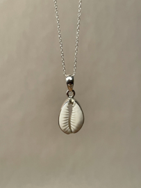 COWRIE SHELL PENDANT STERLING SILVER