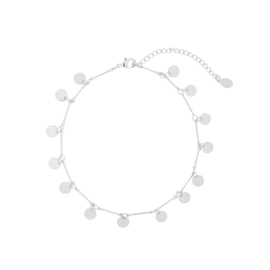 CIRCLES ANKLET SILVER