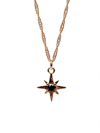 NORTH STAR GOLD PLATED NECKLACE