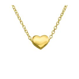 HEART GOLD VERMEIL KETTING