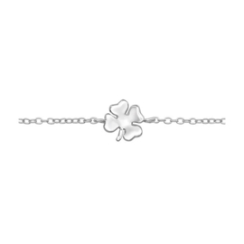 LUCKY CLOVER STERLING ZILVER ARMBAND