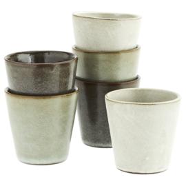 STONEWARE CUPS / MADAM STOLTZ