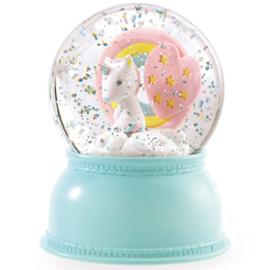 Djeco glitter bollampje Unicorn