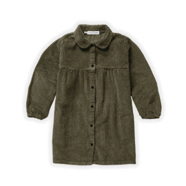 * Sproet & Sprout * dress Corduroy Moss