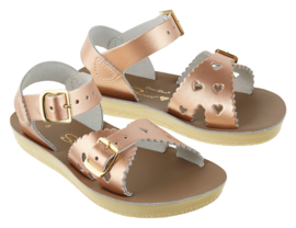 Saltwater sandalen Sweetheart Rose Gold