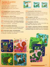 Djeco kraskaarten Bosdieren 3+