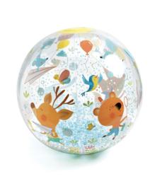 Djeco opblaasbare bal Bubbles