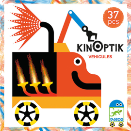 Djeco Kinoptik  Vehicles animatiespel 5+