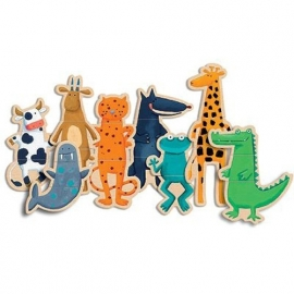 Djeco magneetspel Crazy Animals